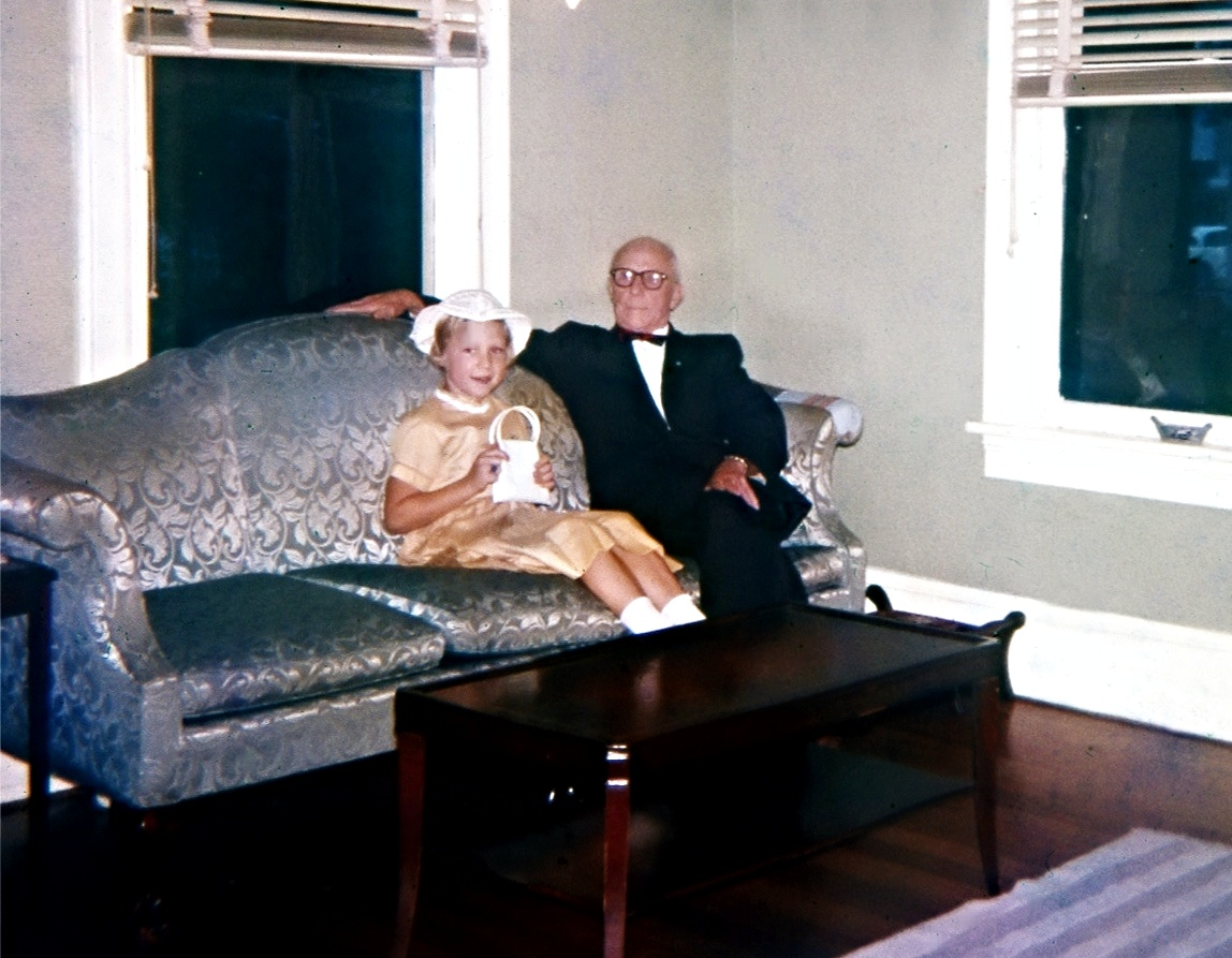 Louise and Grandpa.